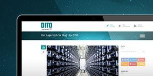Alles rund um Lagertechnik im neuen BITO Blog