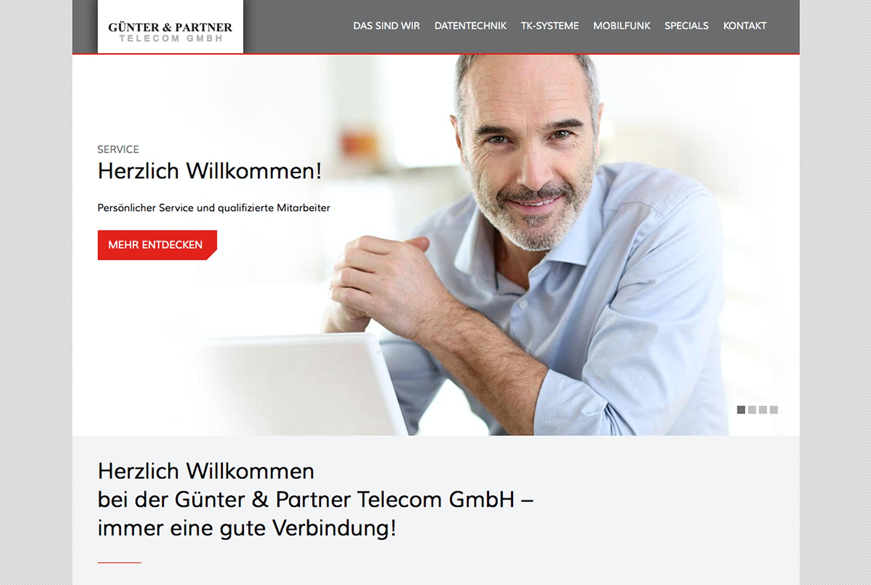 Neues Screendesign für das Detmolder Telekommunikationsunternehmen