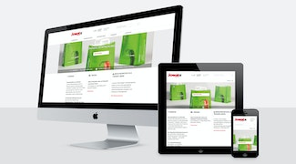 Neue TYPO3 Website im Responsive Design