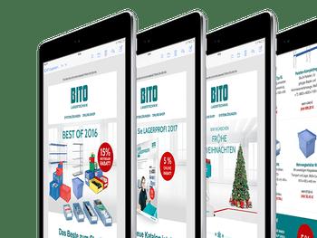 Beispiele aus der BITO Newsletter-Kampagne