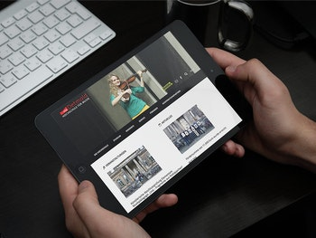 Komfortable Bedienung auf Tablets, Desktops & Smartphones