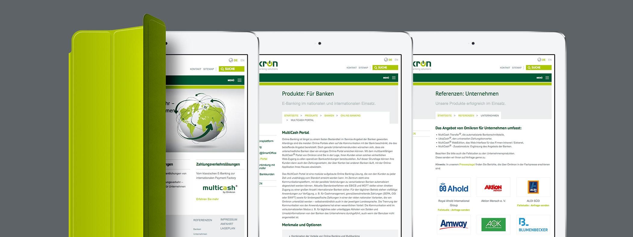 Vorstellung des Unternehmens, der Produkte & Lösungen sowie Referenzen