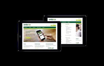 Die Website präsentiert ein umfangreiches Produktportfolio