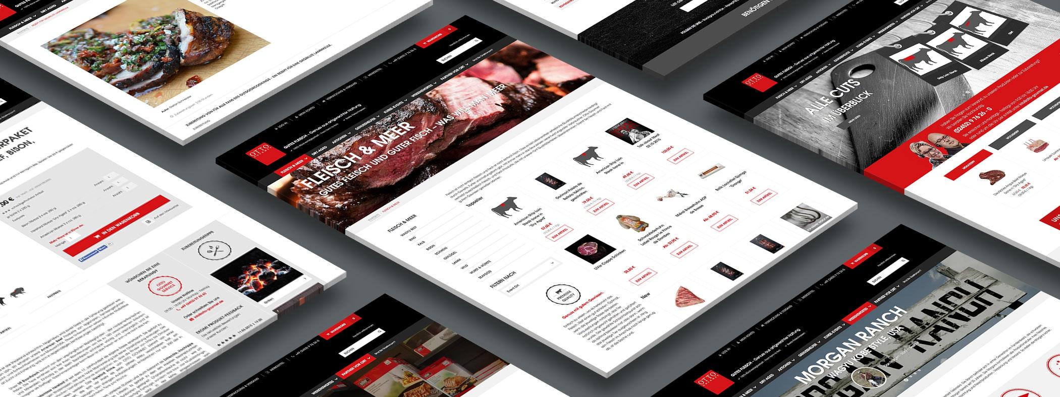 Ein klares und markantes Webdesign