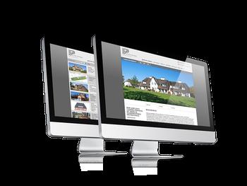 Darstellung aller Immbolien und Exposés mit Schnittstelle zur Immobilien-Software FlowFact
